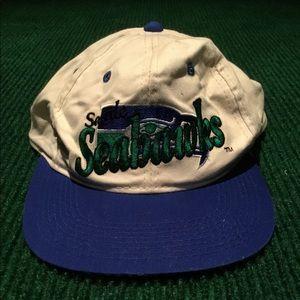 VINTAGE Seattle Seahawks hat NFL adjustable cap